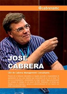 Portada del capítulo dedicado a José Cabrera en el libro Emprendedores de Canarias